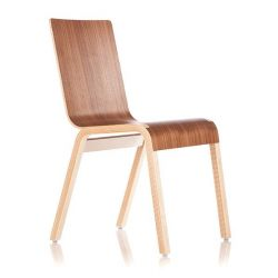 Zipper Chair - Walnut