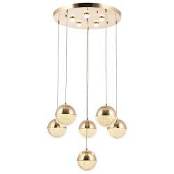 Pedant Lamp Seher Sarkıt | Gold