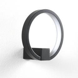 Ring Wandlampe | Schwarz