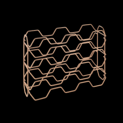 Porte-bouteilles Hexagon