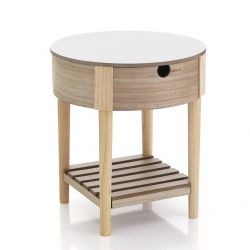 Table basse Alba | Blanc