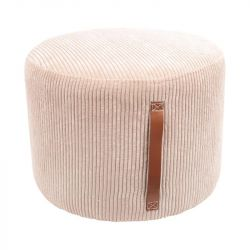 Pouf Velvet Harry | Cream