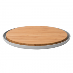 Cutting Board with Plate | Leo