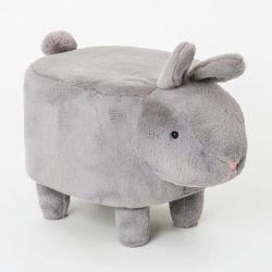 Pouf | Hase Grau