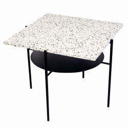 Table Basse Confetti | Noir & Blanc