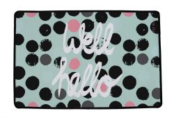 Multifunctional Rug Well Hello | Multicolour
