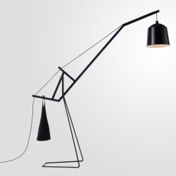 A Floor Lamp | Total Black