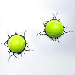 Deko-Licht Tennisball 3D 2er-Set