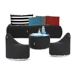 Outdoor Lounge Set 'Social Terrace' | Black