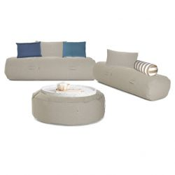 Outdoor-Loungeset 'Comfy Set' | Beige