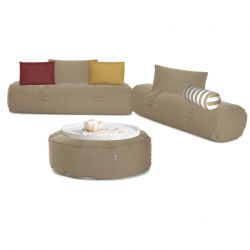Loungeset Tuin 'Comfy Set' | Taupe