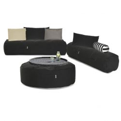 Outdoor-Loungeset 'Comfy Set' | Dunkelgrau