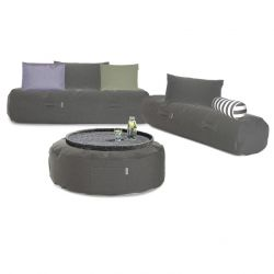 Outdoor-Loungeset 'Comfy Set' | Grau
