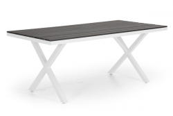 Dining Table Leone 200 x 100 cm | White
