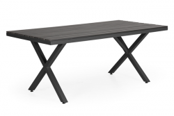 Dining Table Leone 200 x 100 cm | Black