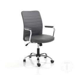 Bürosessel Tyler | Grau