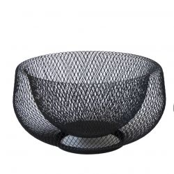 Panier de Fruits Marlo Small | Noir