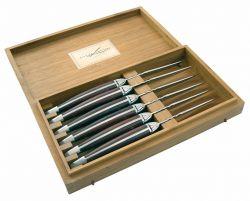 Set de 6 Couteaux à Viande