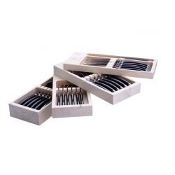 Cutlery set steel | 24 pieces