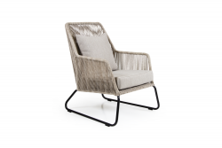 Outdoor-Sessel Midway | Beige & Sand