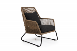 Outdoor Armchair Midway | Light Brown