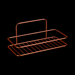 Rectangular Bathroom Rack Reflex | Copper