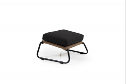 Footstool Midway | Light Brown