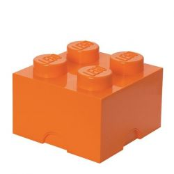 Boîte Lego® Brick 4 Large | Orange