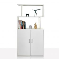 Bookcase Industrial | White