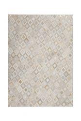Rug Dazzle 100 | Ivory White & Gold