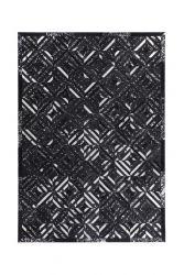Tapis Dazzle 400 | Noir et argent