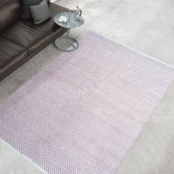 Outdoor Rug Spring | Pink & Ivory