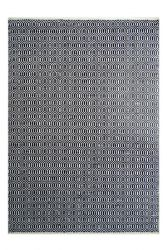 Outdoor Rug Spring | Black & Ivory
