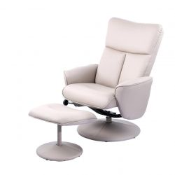 Fauteuil Relax Leandra 150 | Gris