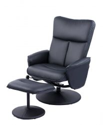 Relax Armstoel Leandra 150 | Zwart