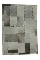 Rug Napetta 222 | 170 x 120 cm | Multicolour & Grey