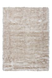 Plaza Rug | White & Brown