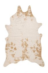 Tapis Faune 325 | 200 x 150 cm | Beige & Blanc