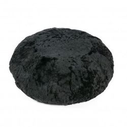 Pouffe Short Icelandic Black