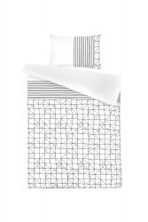 Bed Linen Kyoto | White / Black