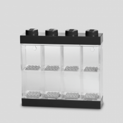 Boîte de Rangement Lego pour 8 Minifigurines | Noir