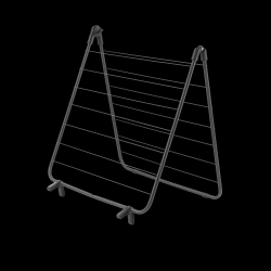 Bath Drying Rack Nevi 7M | Black