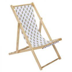 Strandstuhl Zeste | Weiß