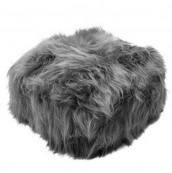 Pouffe Icelandic Grey
