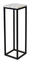 Accent Marmeren Pedestal H 80 | Zwart