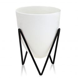 Self-watering Plant Pot Poppy Small | White