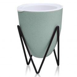 Self-watering Plant Pot Poppy Medium | Green