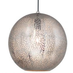 Hanging Lamp Sikri | Nickel