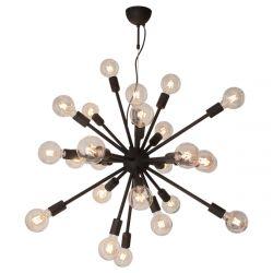 Ceiling Lamp Leo 24 | Black