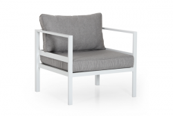 1 Seater Sofa Leone | White